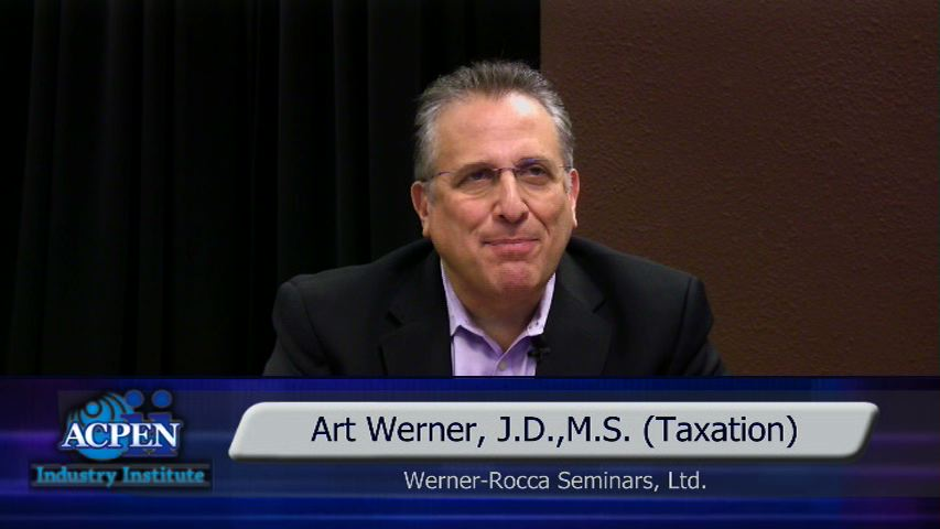 Art Werner - Understanding Section 199A:  Business Income Deduction