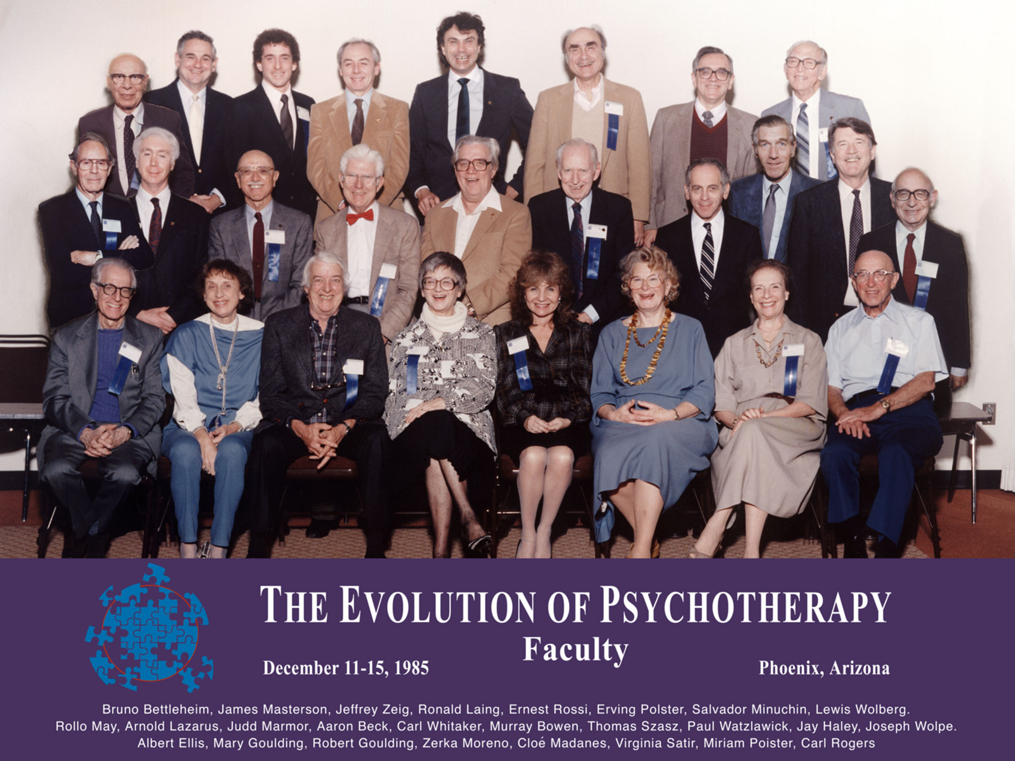 Evolution 1985 Faculty Group Photo