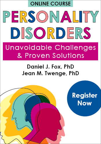 Personality Disorders Online Course