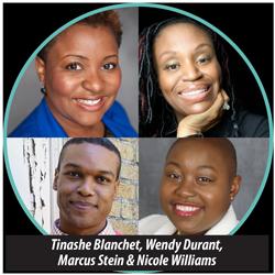 Tinashe Blanchet ; Wendy Durant ; Marcus Stein ; Nicole Williams
