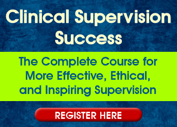 Clinical Supervision Training 18 CPD