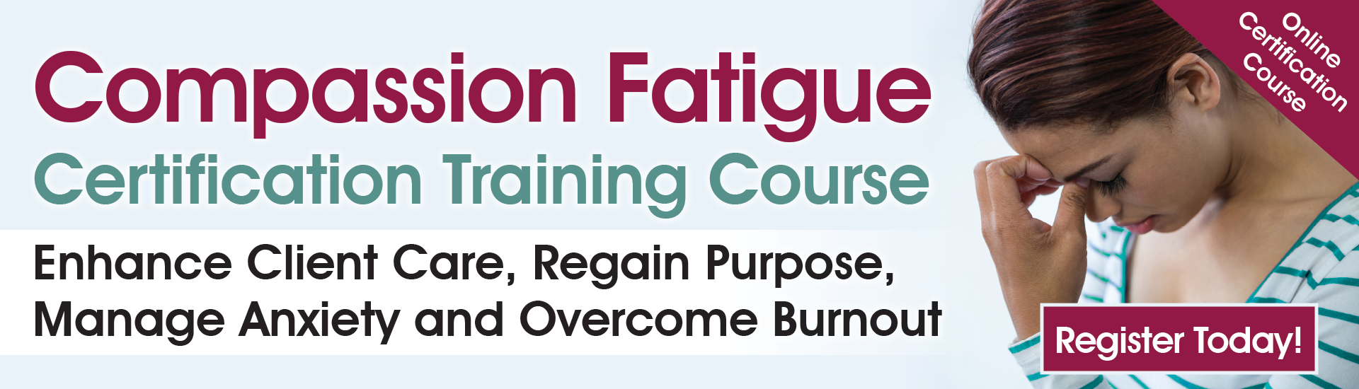 Compassion Fatigue Certification Online Training