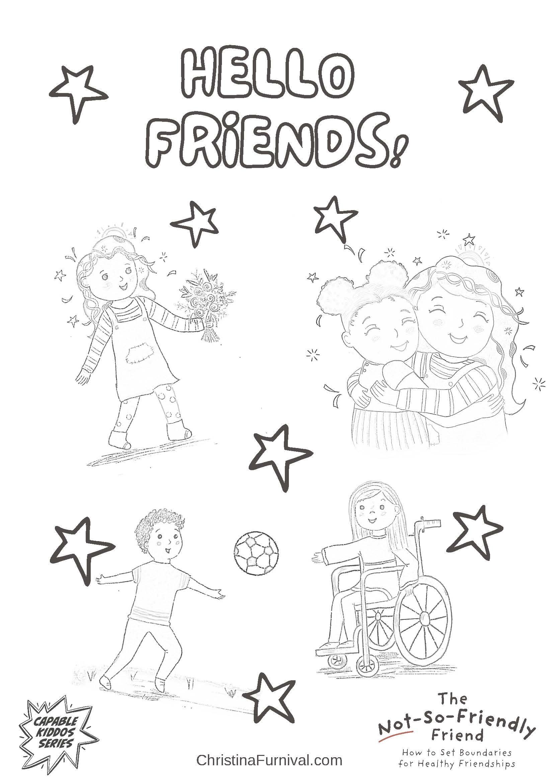 Friendship Worksheets