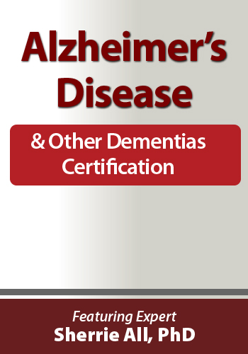 Alzheimer's Disease and Other Dementia Certification Mobile Header