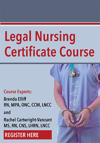 Legal Nursing Certificate Course