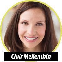 Moderator Clair Mellenthin