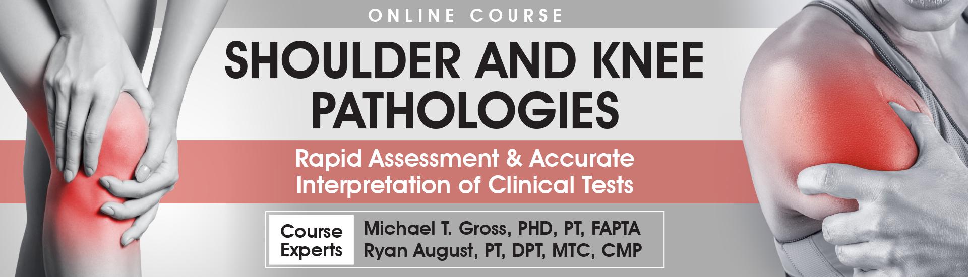 Shoulder and Knee Pathologies Online Course