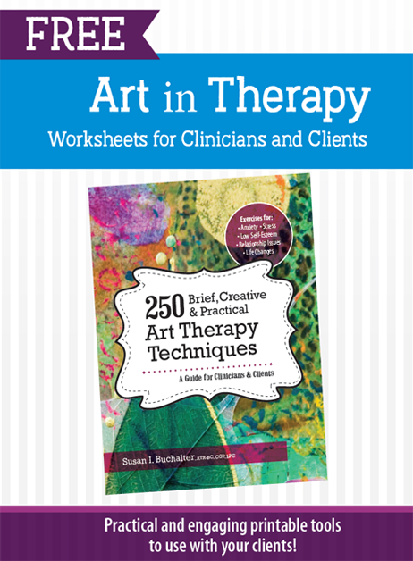 Art-in-Therapy Worksheet cover