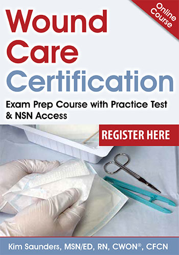 Wound Care Certification: Exam Prep Course with Practice Test & NSN Access