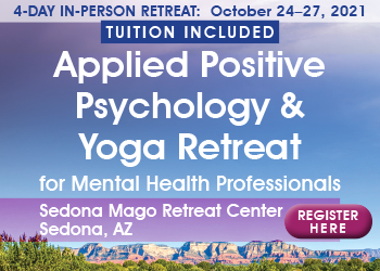 4-Day Applied Positive Psychology & Yoga Retreat for Mental Health Professionals