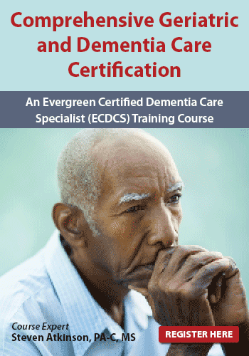 Comprehensive Geriatric and Dementia Care Certification