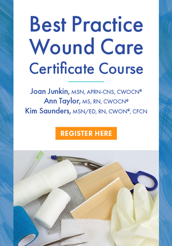 Best Practice Wound Care Certificate Course