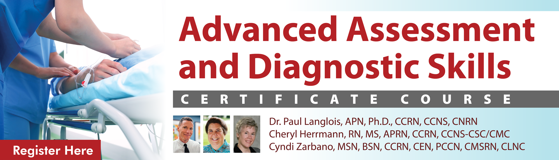 Advanced Assessment & Diagnostic Skills Certificate Course