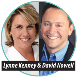 Lynne Kenney and David Nowell