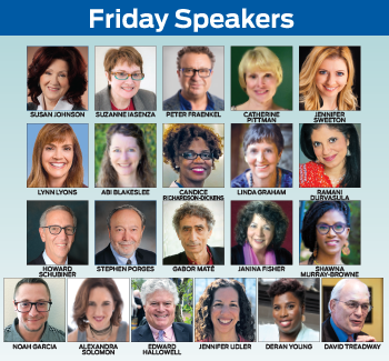 Friday Speakers