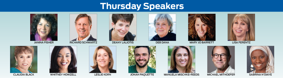 Thursday Speakers