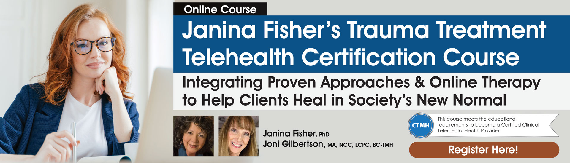 Janina Fisher's Trauma Treatment Telehealth Certification Course