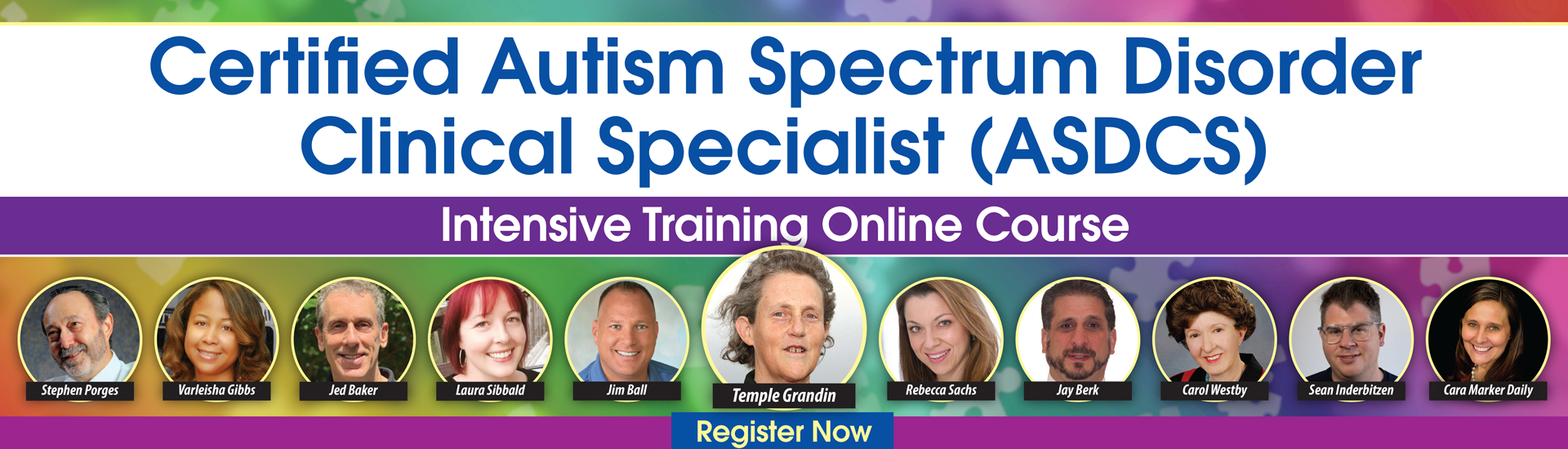 Certified Autism Spectrum Disorder Clinical Specialist Intensive Training (ASDCS)