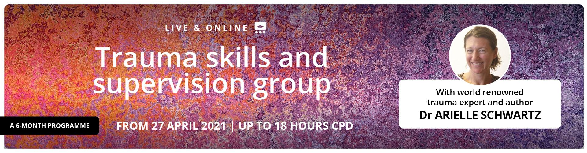 Trauma skills and supervision group