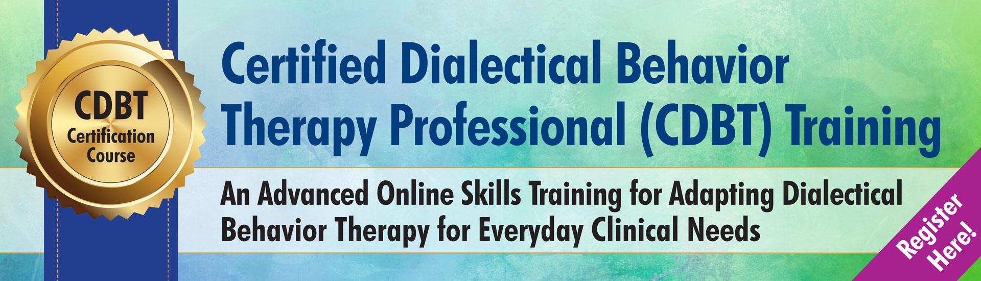 CDBT Training Online Course