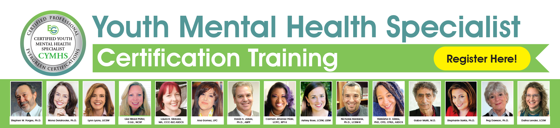 Youth Mental Health Specialist Certification Training