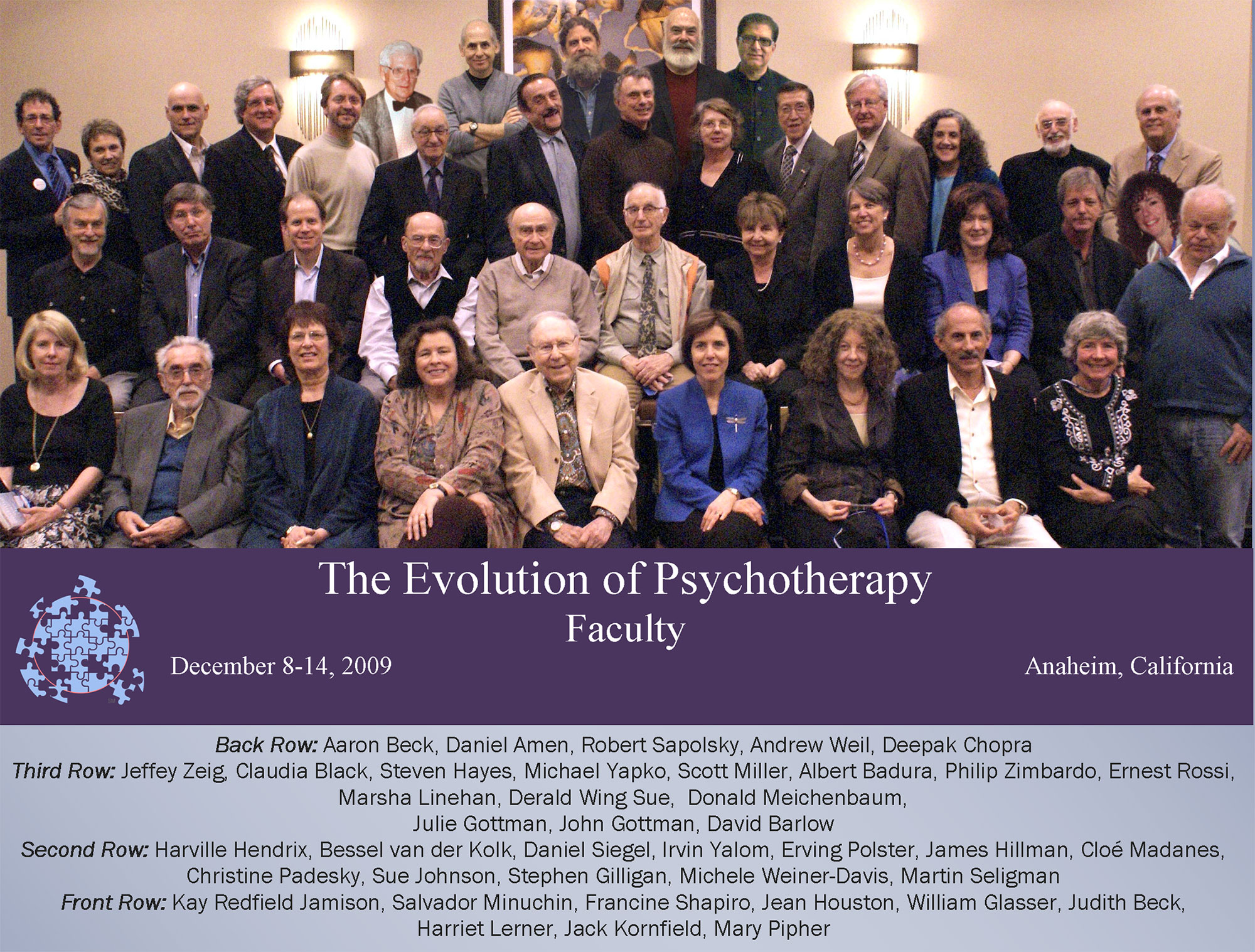 Evolution 2009 Faculty Group Photo