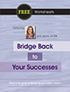Free Worksheet: Bridge Back to Your Successes