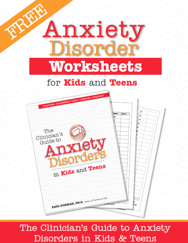 Anxiety Disorders Worksheets