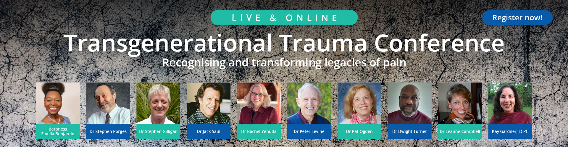 Transgenerational Trauma Conference: Recognising and transforming legacies of pain