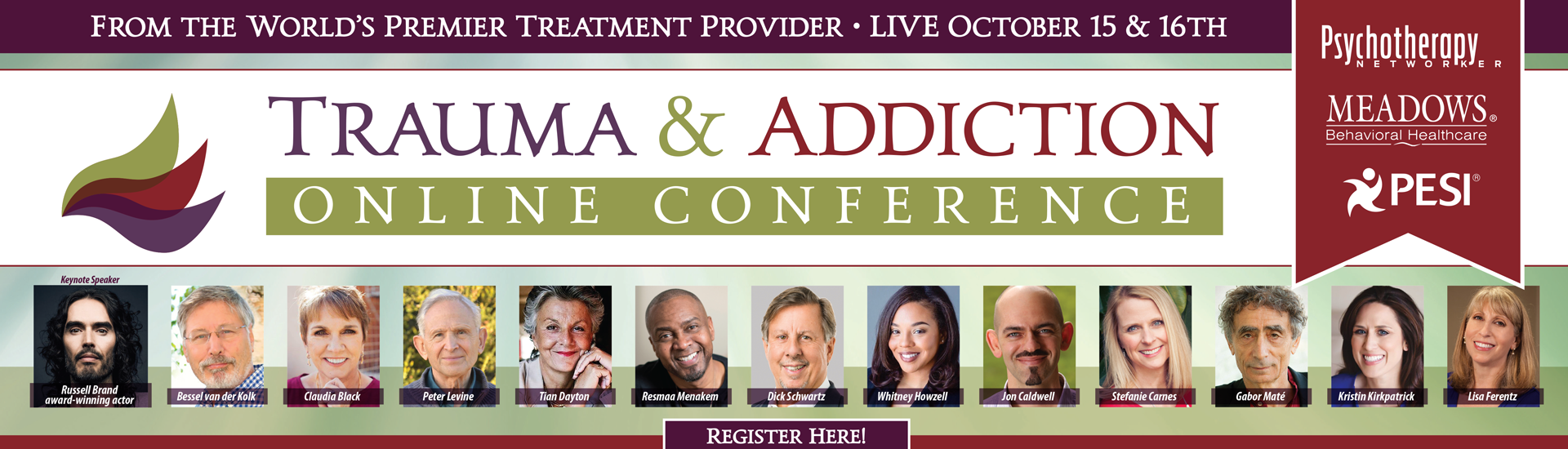 The Meadows' Trauma & Addictions Online Conference