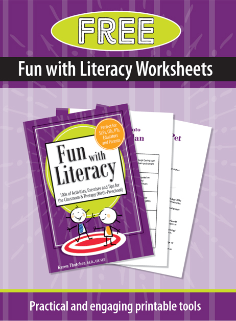 Fun with Literacy Worksheet cover