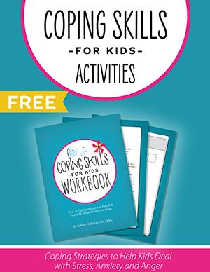 Coping Skills for Kids ACTIVITIES Worksheet