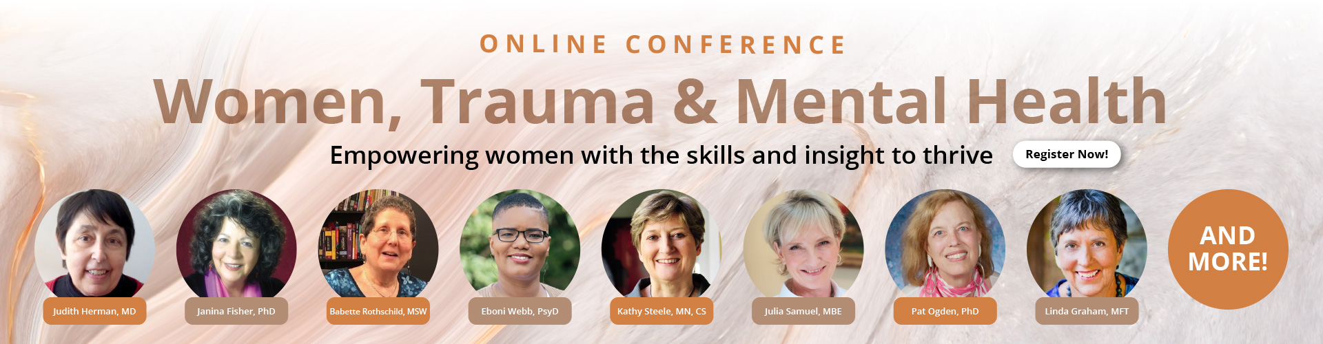 Women, Trauma and Mental Health Master Conference Series: Empowering women with the skills and insight to thrive