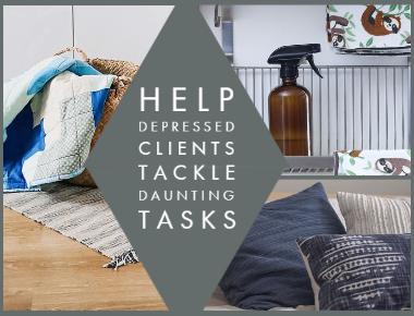 blog Help Depressed Clients Tackle Daunting Task