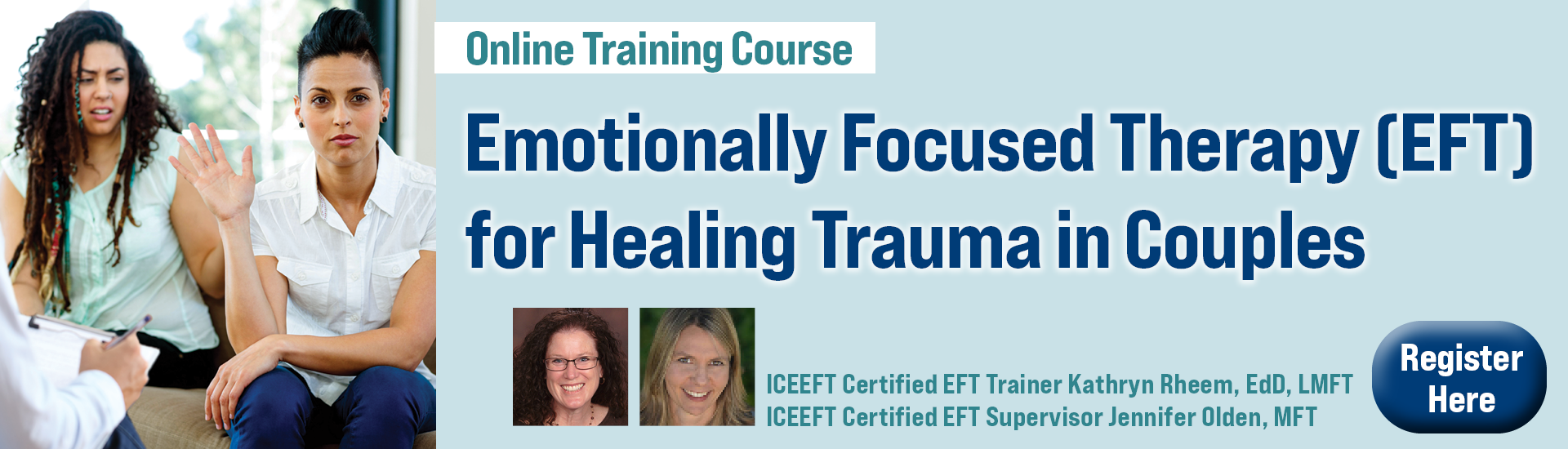 Emotionally Focused Therapy (EFT) for Healing Trauma in Couples