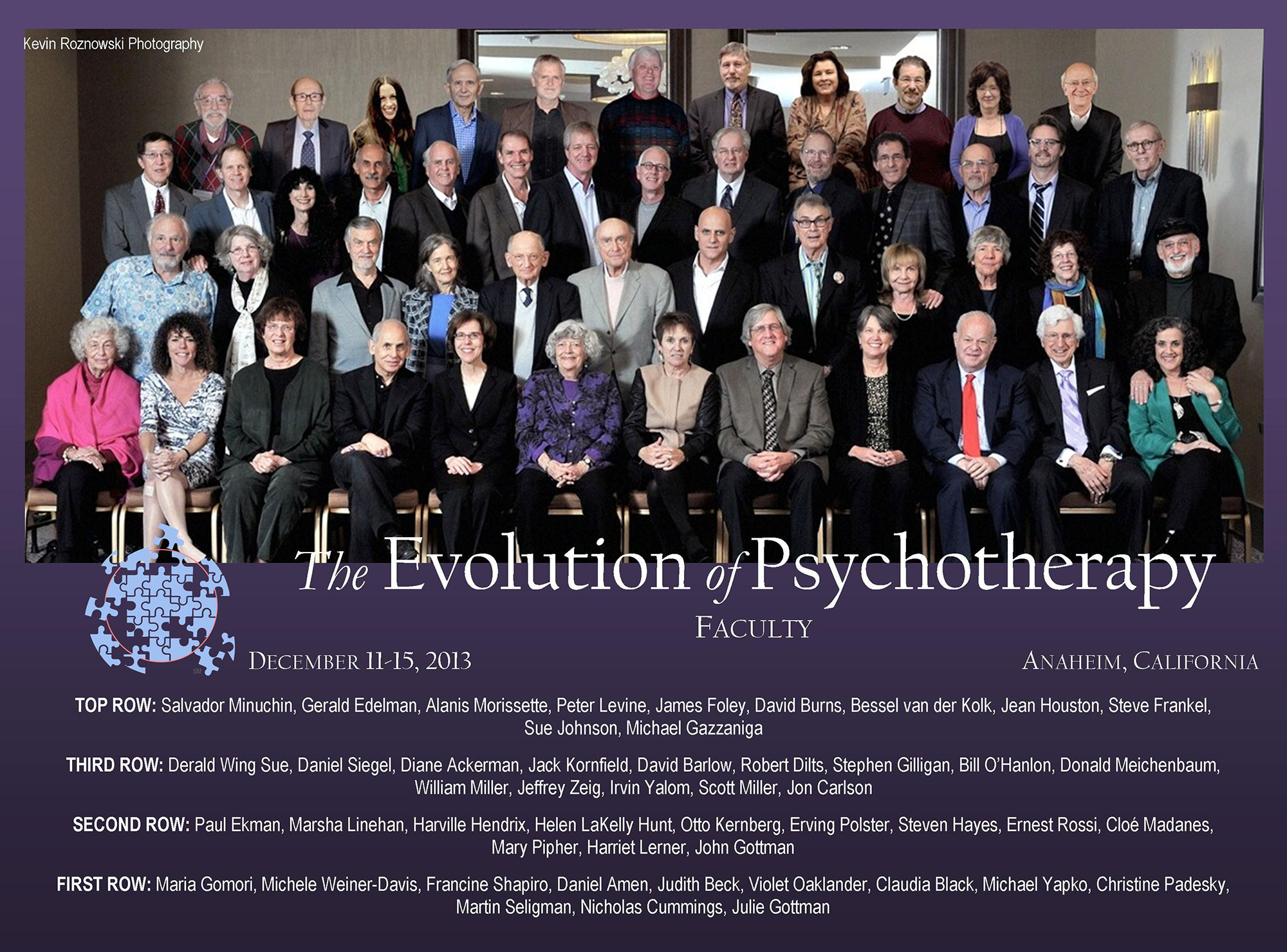 Evolution 2013 Faculty Group Photo