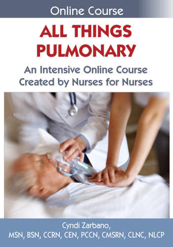 All Things Pulmonary Online Course