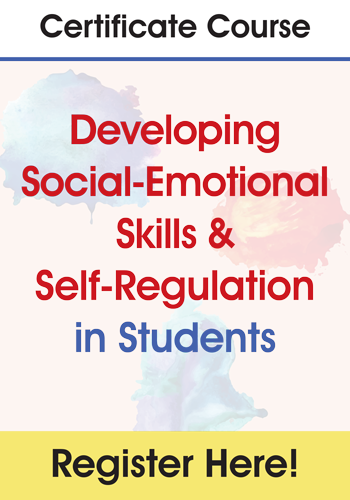 Certificate Course in Developing Social-Emotional Skills & Self-Regulation in Students