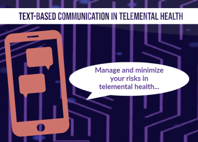 Blog Text-Based Communication in Telemental Health