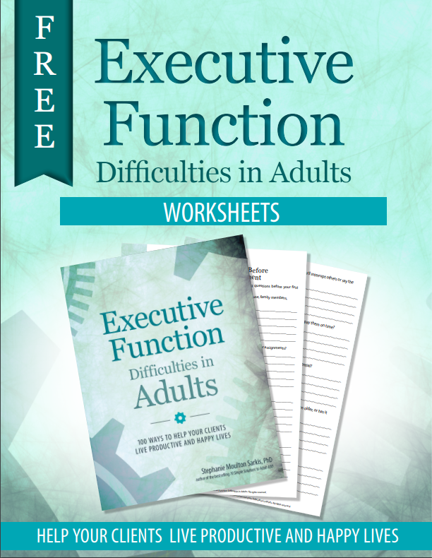 Executive Function Worksheets