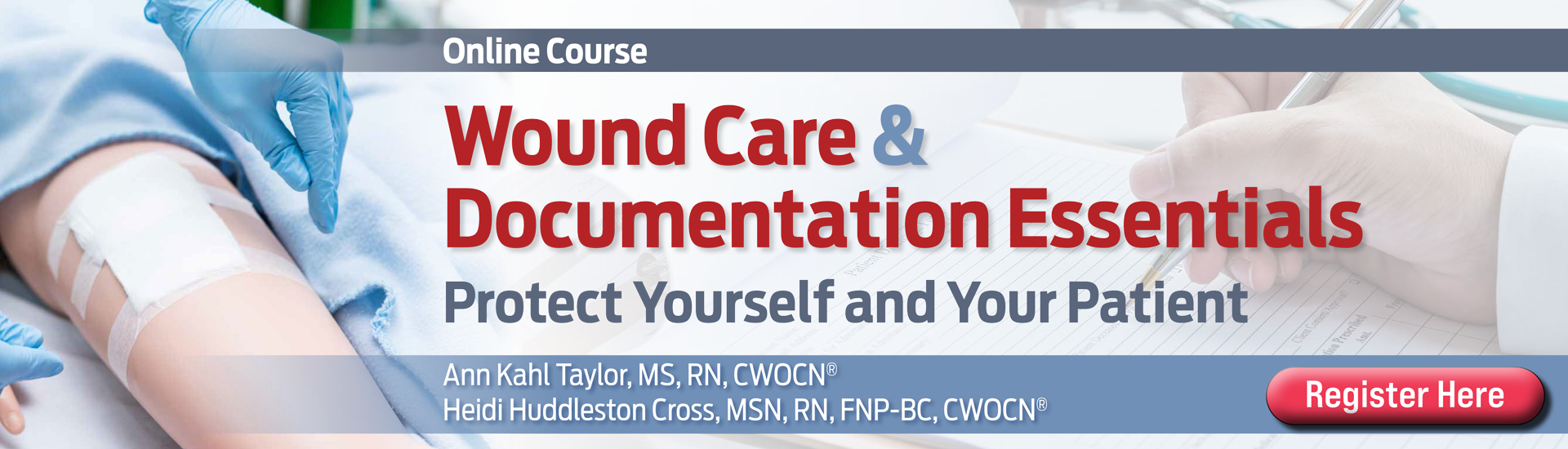 Wound Care and Documentation Essentials Online Course