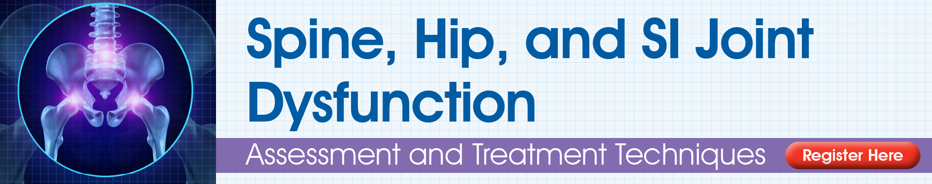Spine, Hip, and SI Joint Dysfunction: Assessment and Treatment Techniques
