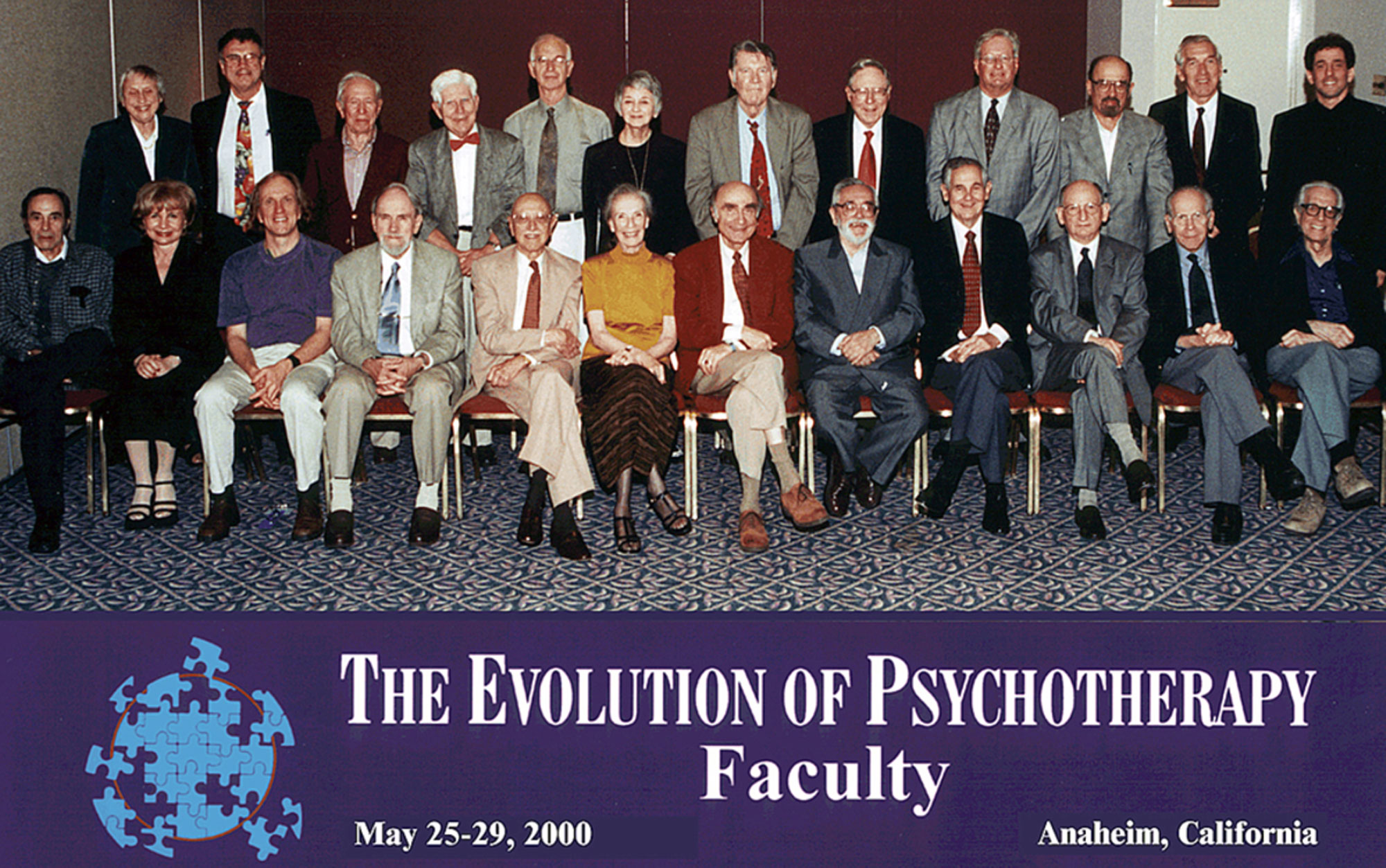 Evolution 2000 Faculty Group Photo
