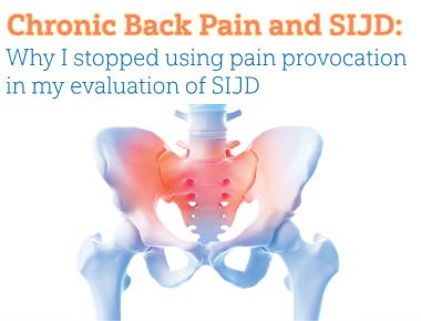 Blog Chronic Back Pain and SIJD