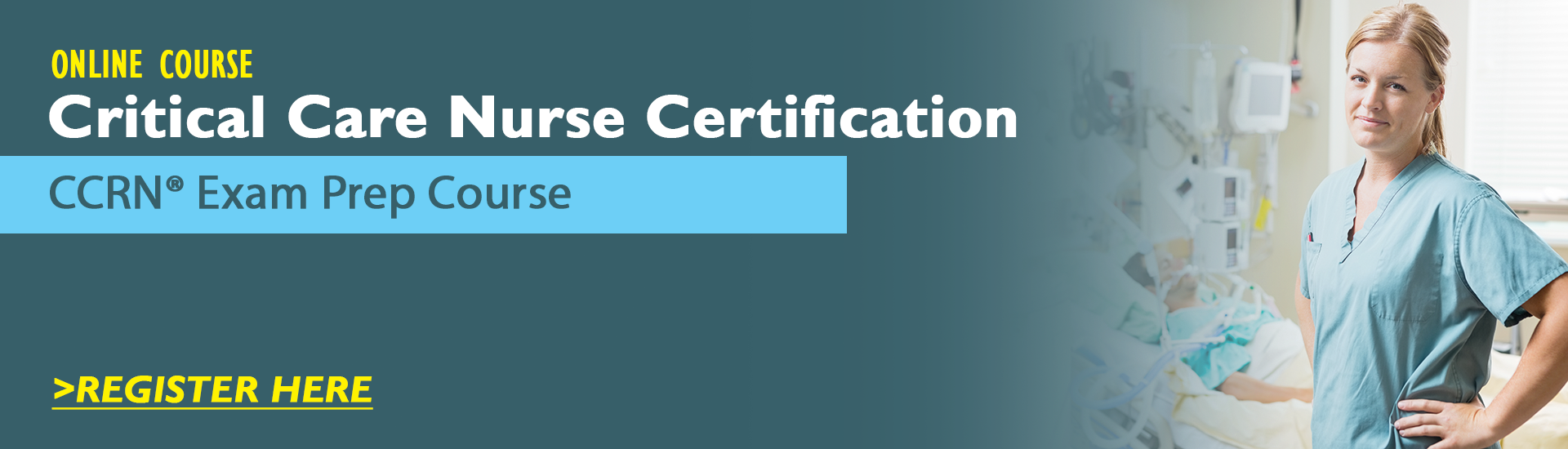Critical Care Nurse Certification – CCRN Exam Prep Package with Practice Test & NSN Access
