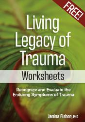 Living Legacy of Trauma Free Worksheets
