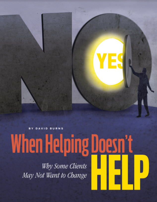Bonus Networker Magazine Article: When Helping Doesn't Help